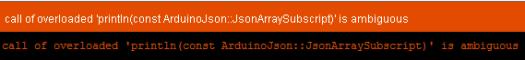 ArduinoJSON cast error