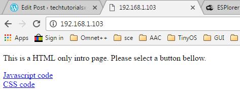 esp8266-serve-html