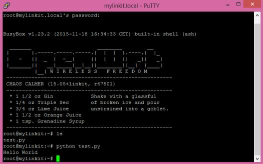 linkit-smart-python-hello-world-script