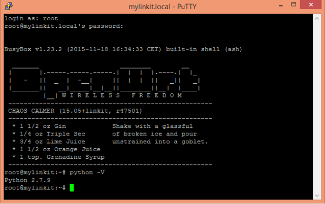 linkit-smart-python-version