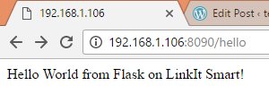 flask-running-on-linkit-smart