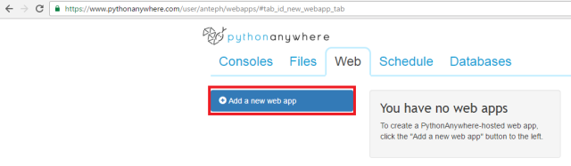 python-anywhere-new-webapp