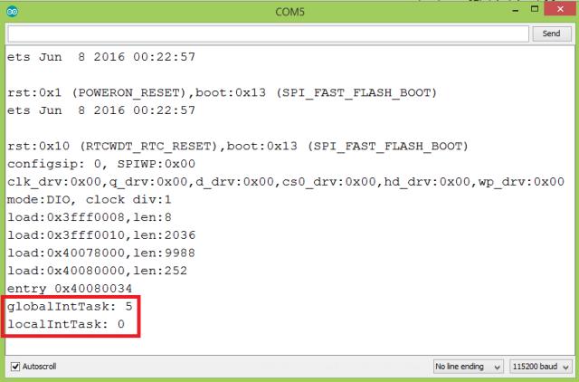 ESP32 Passing variables to FreeRTOS tasks