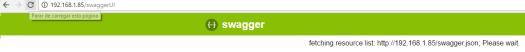 SwaggerUI fetching resources ESP8266