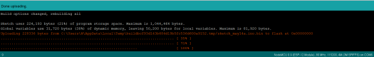 WiFi Bee upload code from Arduino IDE