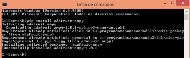 ESP32 ESP8266 MicroPython installing adafruit ampy