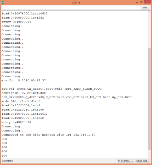 ESP32 HTTP POST Request to Python Bottle Server