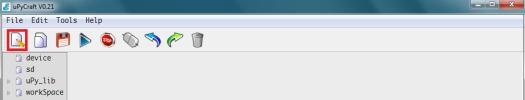 ESP32 uPyCraft IDE create new script.png