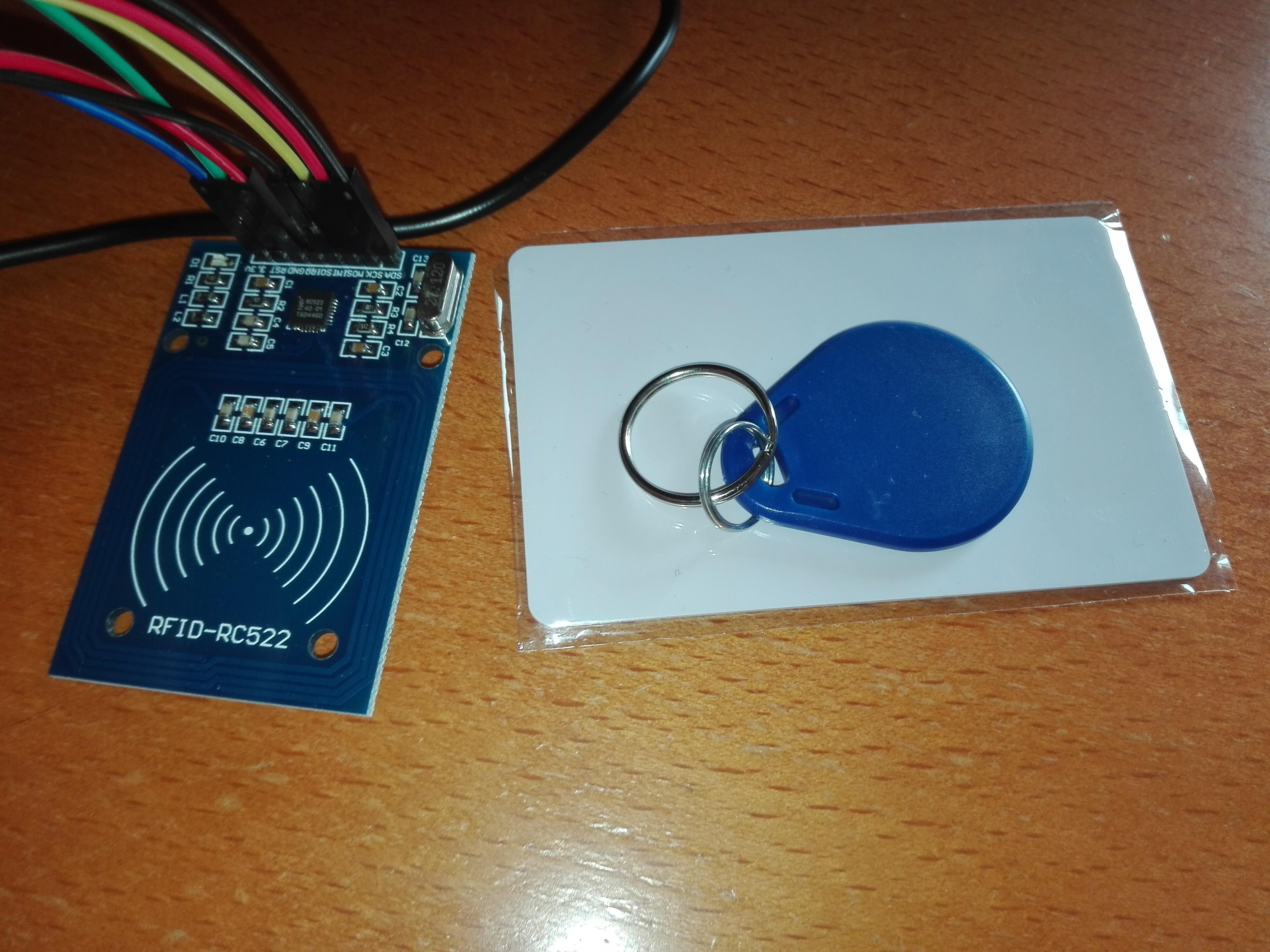 ESP32 RFID Tutorial: Printing the MFRC522 firmware version