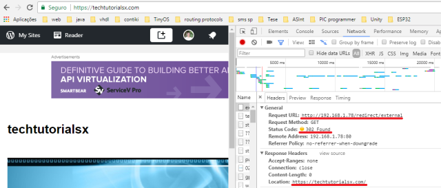 ESP32 Arduino HTTP server: external and internal redirects | DFRobot