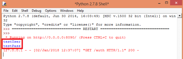 Flask basic HTTP authorization received from Postman.png