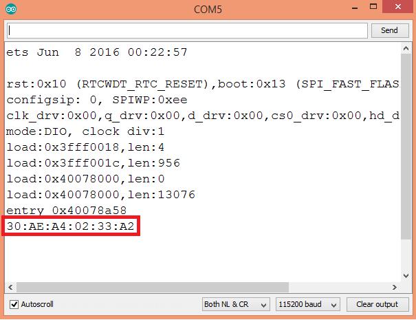 ESP32 Arduino: Getting the Bluetooth Device Address | DFRobot