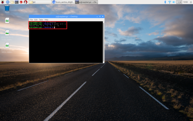 Scrot raspberry pi timed screenshot.png