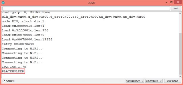 ESP32 Arduino HTTP web server template processor value