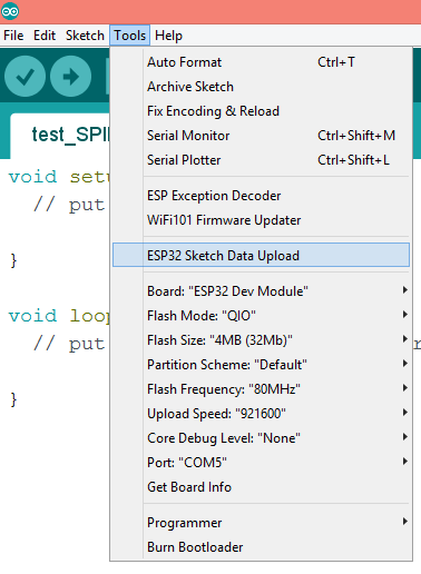 ESP32 SPIFFS Arduino plugin upload file.png