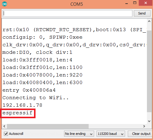 ESP32 Arduino getting the station interface hostname